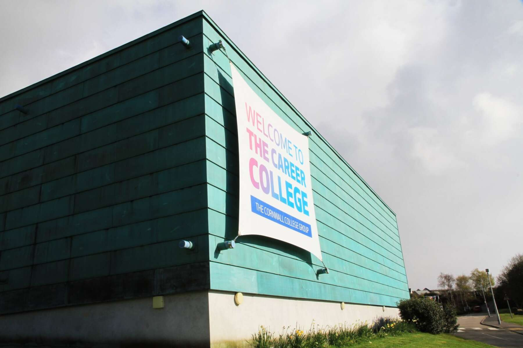 Cornwall College Building Exterior Shot